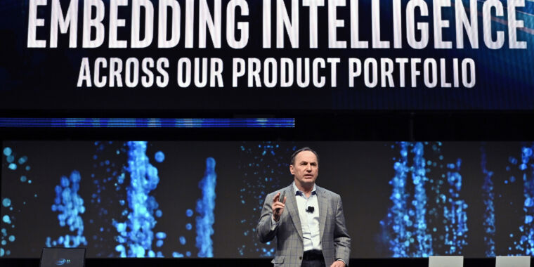 After corporate blunders and setbacks, Intel ousts CEO Bob Swan