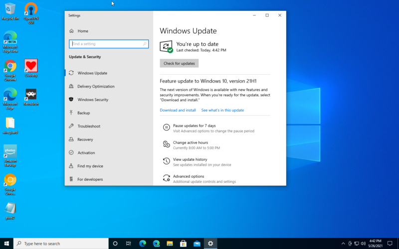 """If you're the itchy type and 21H1 isn't showing up in Windows Update for you yet, you can force the issue by <a href=""""https://www.microsoft.com/software-download/windows10"""">downloading</a> and running the Media Creation Tool."""