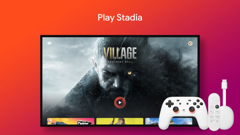 Google Stadia: Now for televisions.