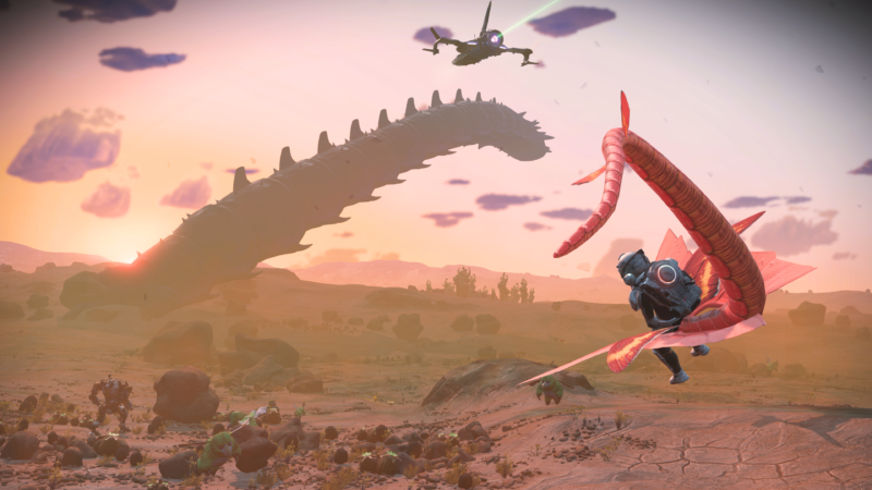 Promotional image for VR game No Man's Sky.